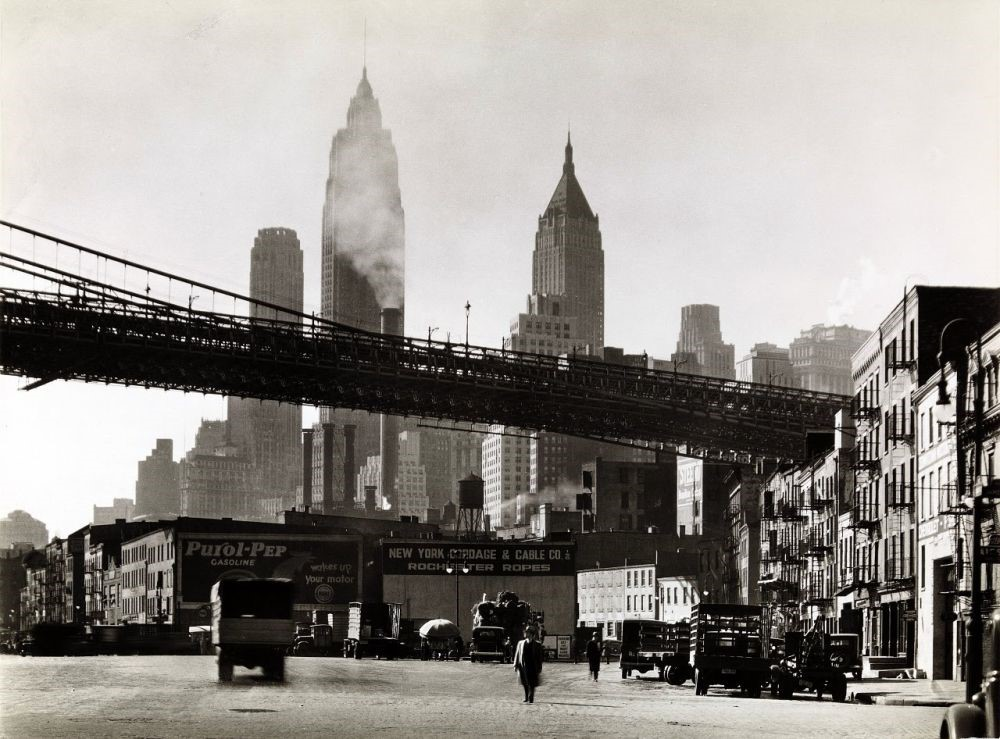 New-York-por-Berenice-Abbott-c.-1936